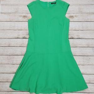 Lauren Ralph Lauren Green Knee Length Dress 4
